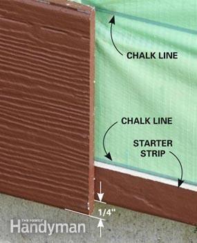 How to Install Fiber Cement Siding | The Family Handyman