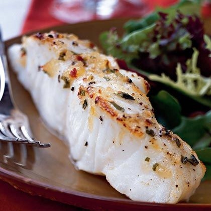 Sea bass cooks up fast in the broiler and comes out beautifully moist and flaky after only a few minutes. The Pineapple-Chili-Basil Glaze...