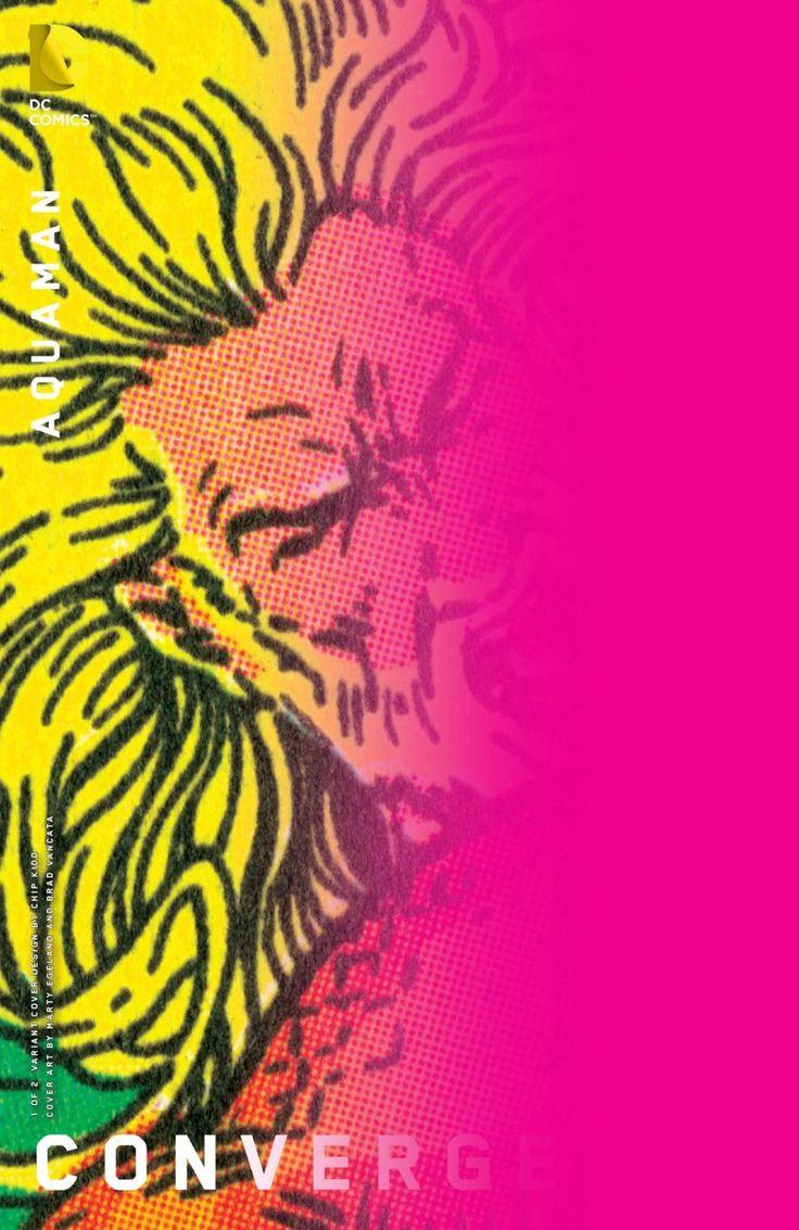 DC Comics - Aquaman: Convergence #1 & #2 Chip Kidd Variant Cover Set