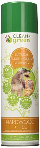 Clean  Green Wood and Tile Pet Odor and Stain Remover for Dogs and Cats 16Ounce ** Want to know more, click on the image.