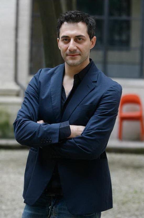 Italian actor Filippo Timi