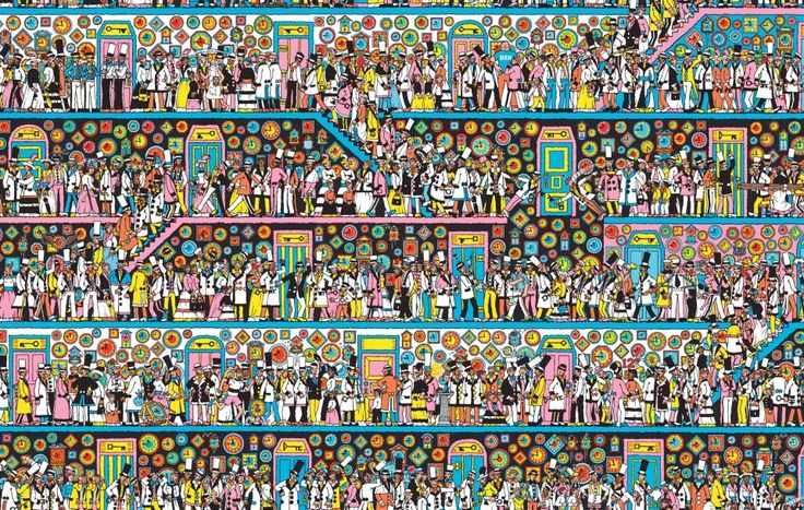 Keep Searching. But can you find Wally, Wenda, Wizard Whitebeard and Odlaw?