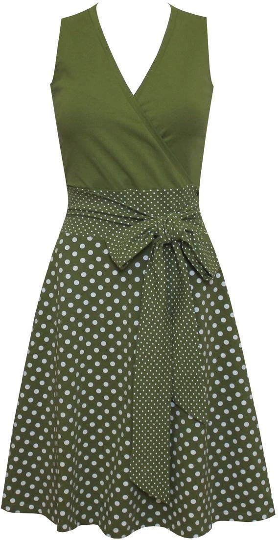 Kleid Sophie dots allover in vielen Farben | Etsy
