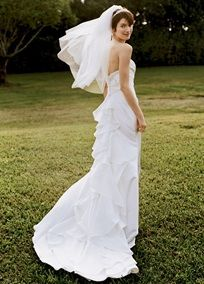 this is the dress i said 'I Do' in :) i still love it.: David Bridal, Wedding Dressses, Bridal Collection, Mikado Gowns, Wedding Dresses, Receptions Dresses, Wedding Dreams, Dreams Dresses, The Dresses