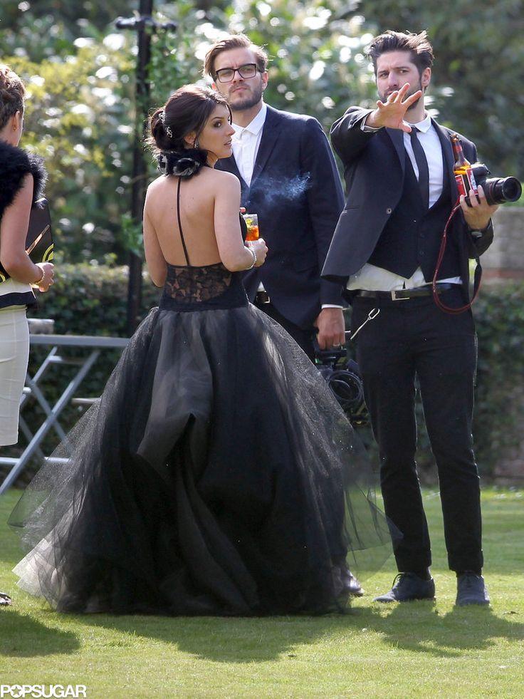 Celebrity Black Wedding Dress Wedding