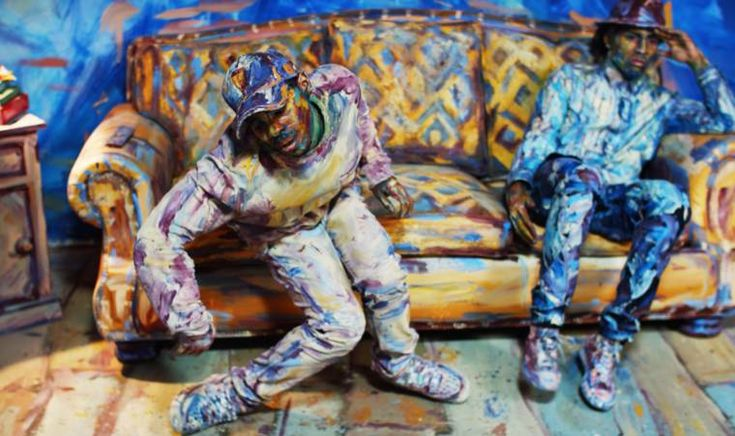Color of Reality: Ein tanzendes Gemälde