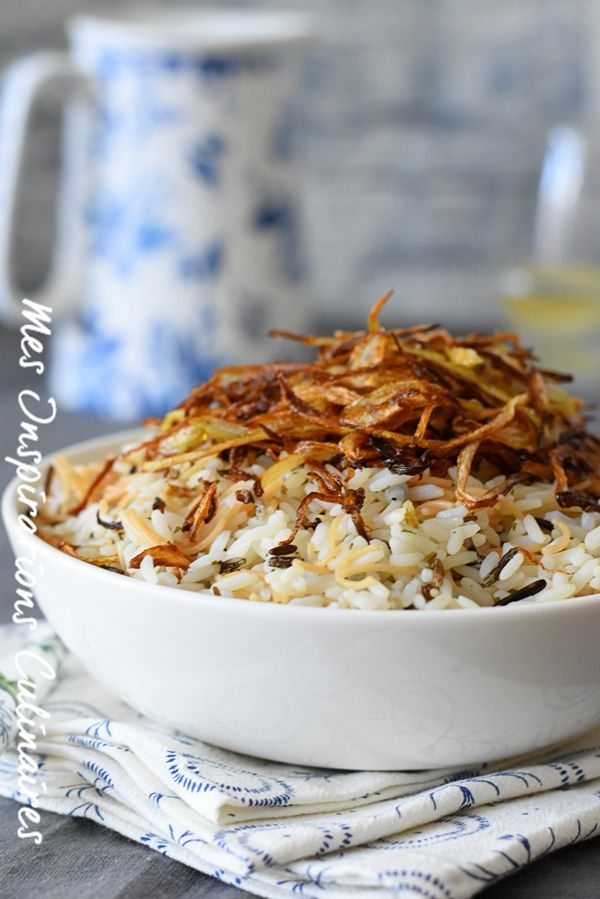 Riz aux vermicelles libanais / lebanese rice vermicelli