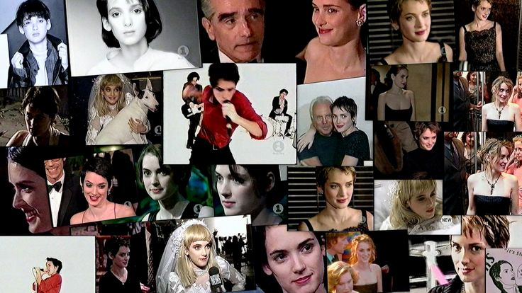 Winona Ryder Picture Collage
