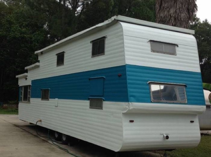 1954 Two Story Vintage Travel Trailer For Sale Vintage