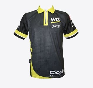 Sublimation Printed Motor Sports Polo Top