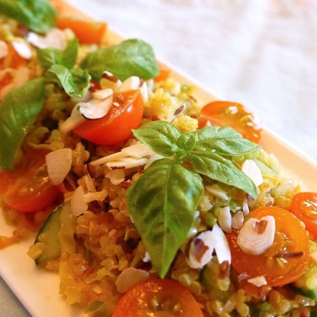 美肌&ダイエットに嬉しいキヌアサラダ(グルテンフリー、ヴィーガン)