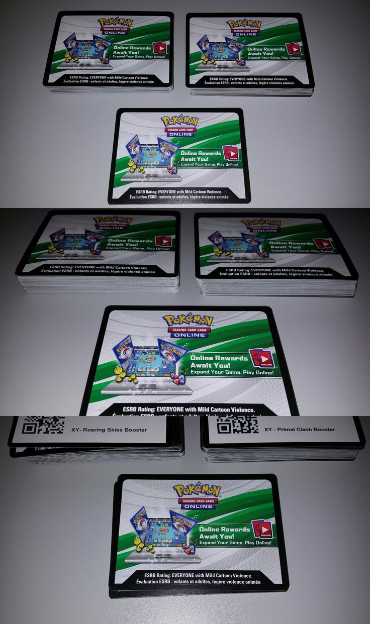 Pok mon Individual Cards 2611: 110 Cards Pokemon Online Tcg Codes 50 Roaring Skies 50 Primal Clash + Bonus Free -> BUY IT NOW ONLY: $99.99 on eBay!