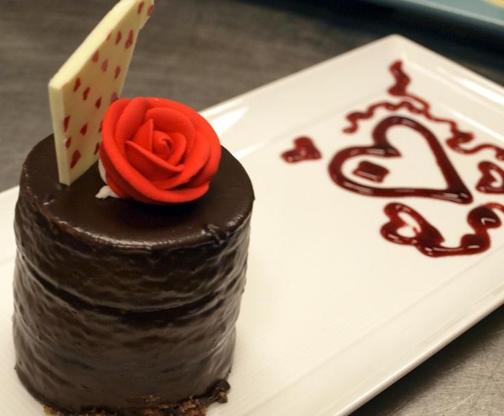 Chocolate Ganache Cheesecake Tower