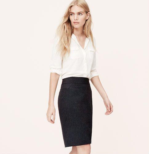 LOFT Custom Stretch Pencil Skirt | Loft