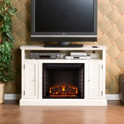 Darby Home Co Ginsberg TV Stand with Electric Fireplace & Reviews | Wayfair