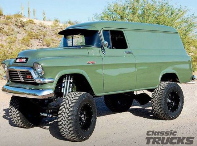 Very cool Classic GMC. | Favorite Cars and Trucks | Pinterest