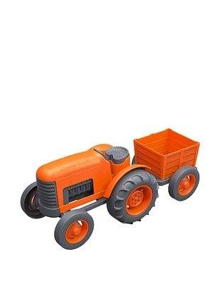 35% OFF Green Toys Tractor Vehicle, Orange