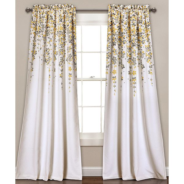 Window Curtains Gray And Yellow: 1000+ Ideas About Gray Curtains On Pinterest