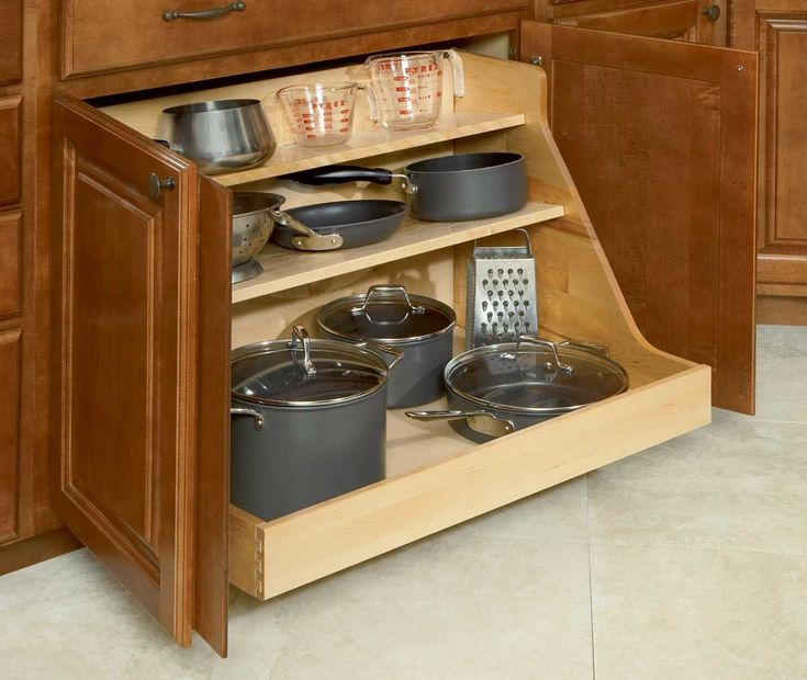 Storage Drawers For Kitchen Cabinets