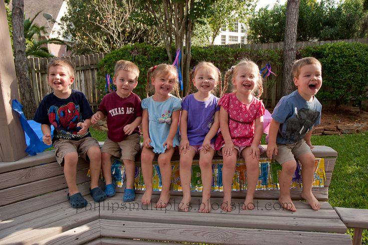 Phillips Quints a little older and big brother | Twins and other Multiples | Pinterest | Brother ...