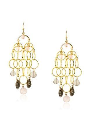 54% OFF Helene Au Naturelle Stone Chandelier Earrings