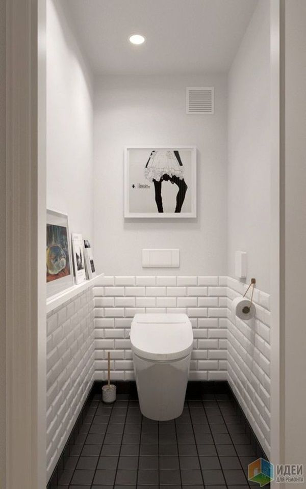 Small Bathroom Ideas On A Budget 21 Jpg 600x960 Pixel Small Toilet Room Small White Bathrooms Trendy Bathroom