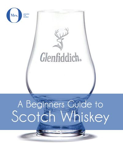 A Beginners Guide to Scotch Whiskey: What type of glassware and ice work well with Scotch Whiskey? A traditional whiskey tumbler works well when drinking whiskey you already know or mising a long drink. If drinking for the first time, or to better appreciate the flavours, then a tulip glass helps to concentrate the aromas around the neck of the glass.