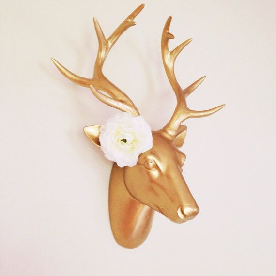 White Deer Head Wall Decor 34 best fauxidermy images on pinterest | faux taxidermy, animal