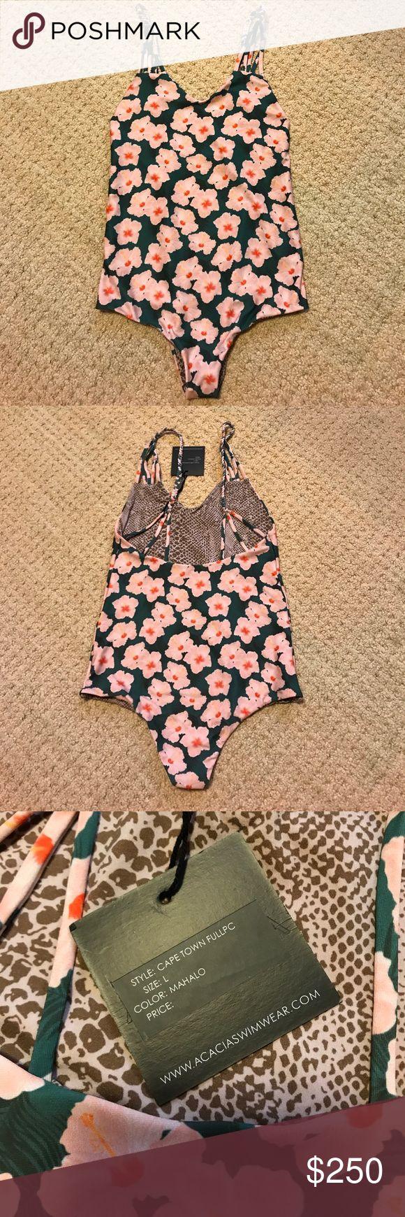 Acacia Capetown Mahalo size L.  NWT Acacia Capetown Mahalo size L.  NWT acacia swimwear Swim One Pieces