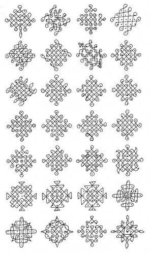 תוצאת תמונה עבור kolam with dots