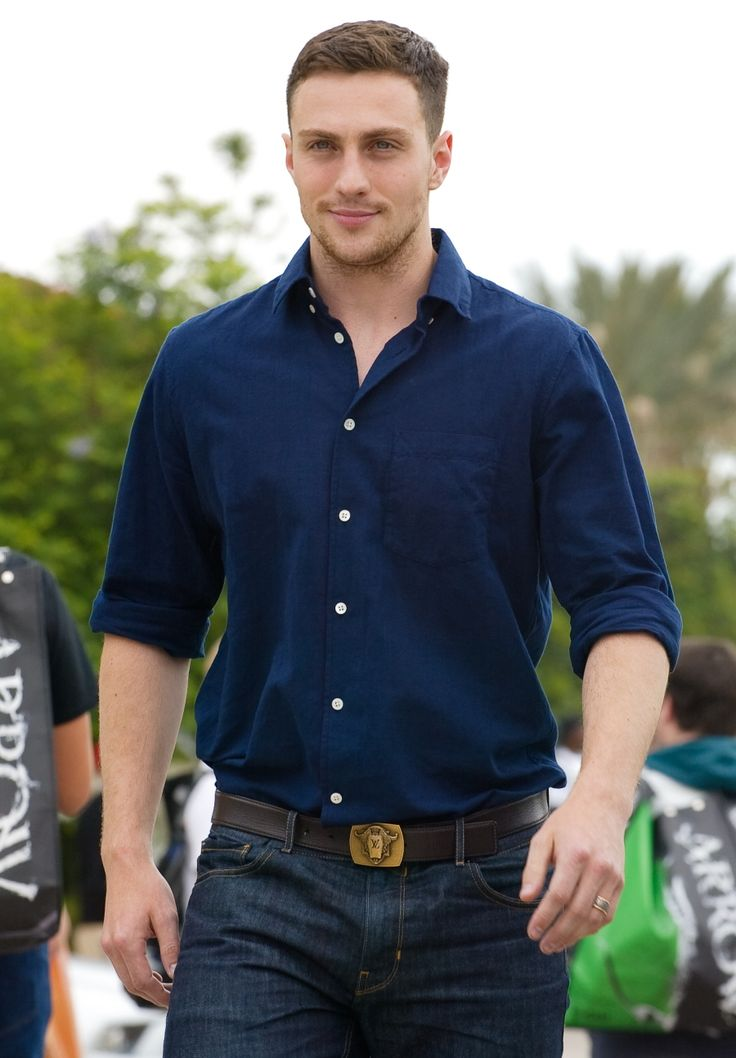 Aaron Taylor-Johnson.  Yes please. This Ouicksilver is SO much better (and better looking ) than the one in Xmen.