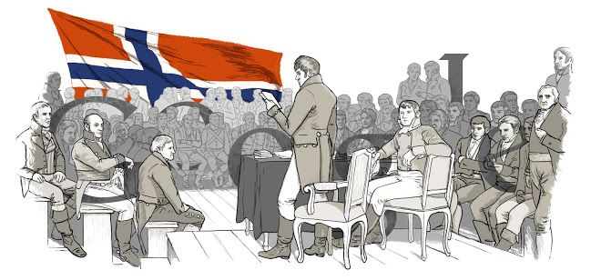 200 anos da Independência da Noruega - 17/5/14