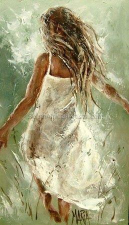Maria Magdalena Oosthuizen - Run Away | Contemporary Art Art Painting
