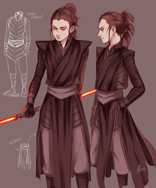 Rey as a Sith. Yikes.