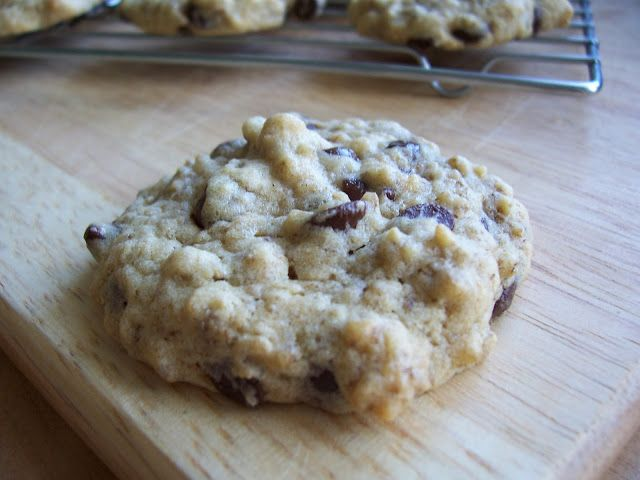 Good Food, Shared: Weetabix Chocolate Chip Cookies