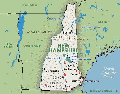 Best New Hampshire Images On Pinterest New Hampshire White - New hampshire on the us map