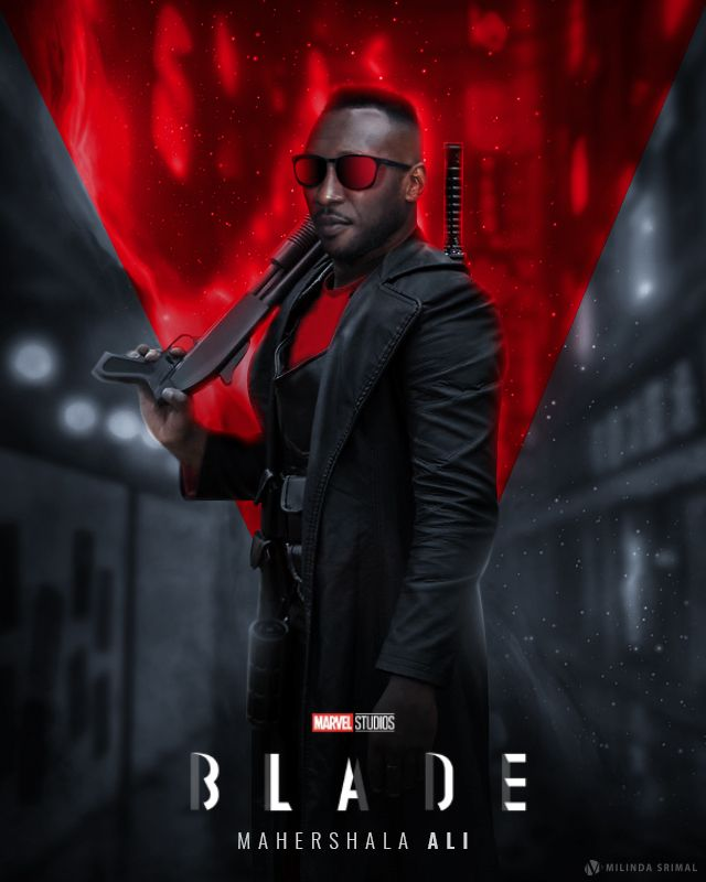 New Blade Movie Fan Poster In 2020 New Movie Posters Blade