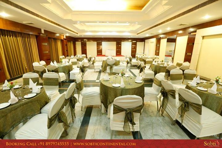 Our elegant banquet hall has been designed to meet your every need. We set up the space as per the theme, offering you many choices depending on the number of guests attending your event. www.sobticontinental.com/rudrapur/Receive-warm-welcome-Rudrapur-Sobti-Continental.php