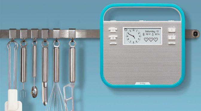 Triby Family: Küchenradio mit Alexa-Sprachsteuerung
