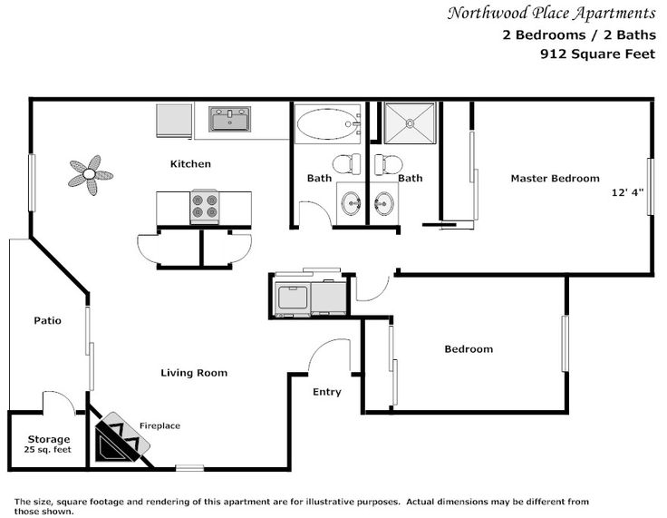 17 best images about apartment on pinterest two bedroom for 2 bedroom 2 bath garage apartment plans