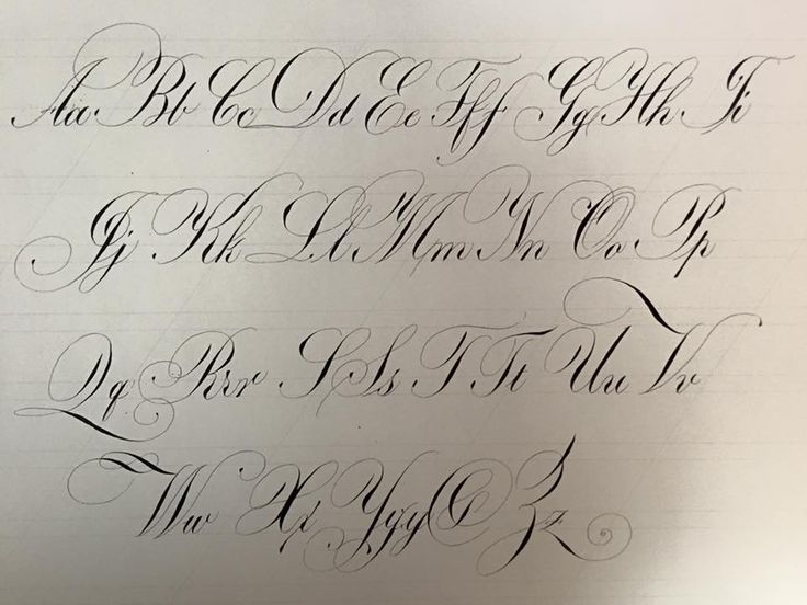 Best Nib For Large Copperplate Letters