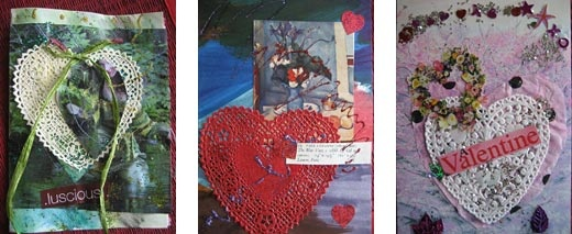 A valentine collate is a message of love that is always appreciated.