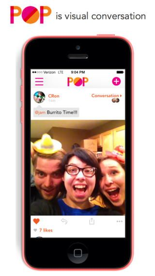 #POP App: New iOS App for Sharing Photos and Videos with Dramatic Appeal