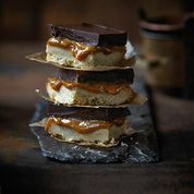 Salted caramel shortbread | Easy baking recipes