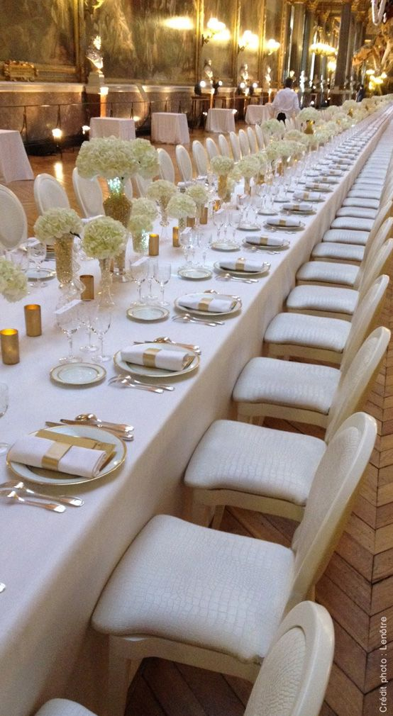 Arts de la table, Réception privée. http://www.lenotre.com