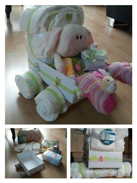 Windel - Puppenwagen :-)