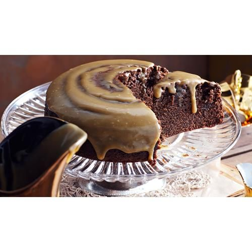 Golden syrup chocolate cake with fudge icing recipe - By Australian Women's Weekly