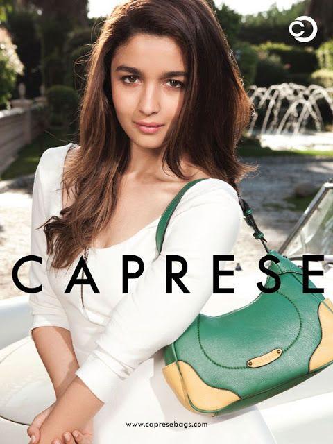 Indian Girls Villa: Alia Bhatt Photoshoot for Caprese Bags