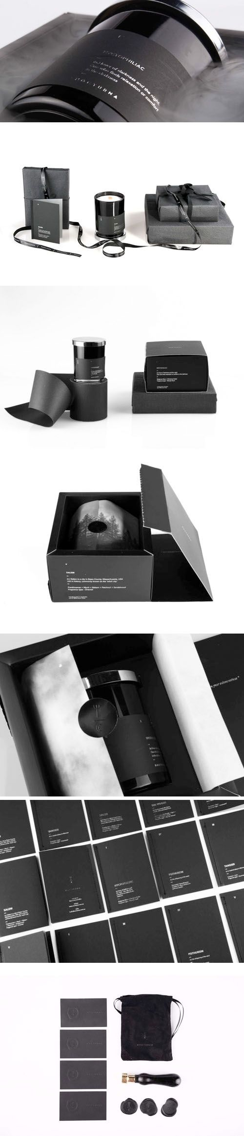 Nocturna Candle Packaging Design