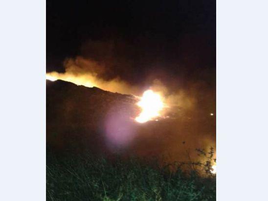 Lapseki Güreci Köyü Ormanlık alanında Yangın...